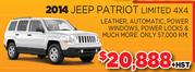 2014 Jeep Patriot Limited 4X4 Toronto