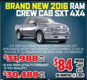 2016 Ram Crew Cab SXT 4X4 Toronto