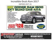 2017 Dodge Ram 1500 SXT Quad Cab 4X4