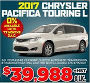 2017 Chrysler Pacifica Touring L for Sale in Toronto