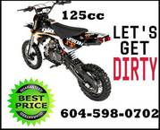 BRAND NEW 125CC Dirt bikes here best buys.Many other models.