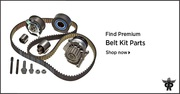 Timing Belt Kit with Water Pump - PartsAvatar