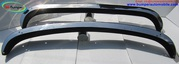 VW Karmann Ghia bumper (1972-1974) stainless steel