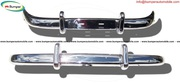 Volvo PV 544 Euro bumper kit in stainless steel